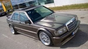 190E turbocharged