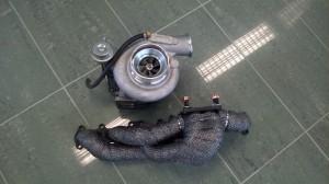 HE351W Holset + OM606 manifold