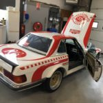 R107 560SL race car