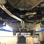 "R107 dual 2.25"" exhaust"