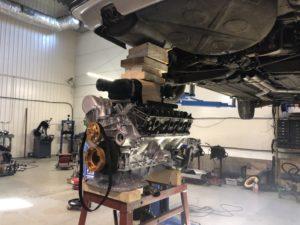 Exhaust welding tool set