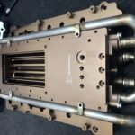 Liquid cooled intake manifold M117