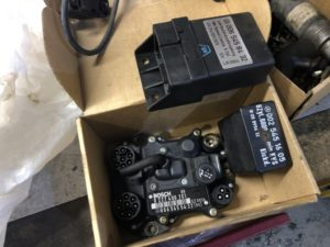 EZL + lot of Idle control relays + fuel/combi